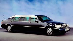 Putin's Mercedes S600 Pullman Guard W140 Armored Limo for