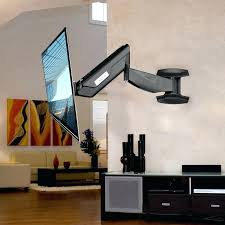tv wall mounts wall mount articulating arm monitor bracket up to with tv wall mounts