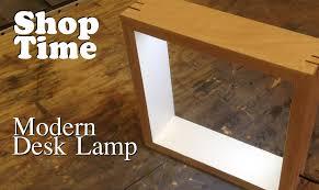 Modern Picture Frame Desk Lamp Iwoodit