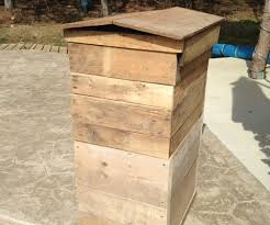 skid furniture. Make A Honey Bee Hive From Old Wooden Skids Skid Furniture