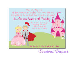 princess party invitations net prince and princess party invitations princess by mypreciouspaper party invitations