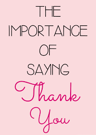 the importance of saying thank you the muslim girl the importance of saying thank you