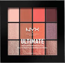 <b>Палетка</b> теней - NYX Professional Makeup Ultimate <b>Multi</b>-Finish ...