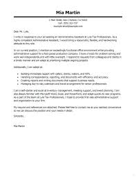 Medical Support Assistant Cover Letter Administrative Assistant