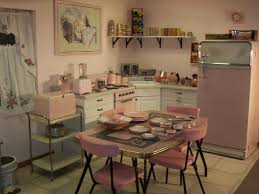 Retro Kitchen 1950s Pink Retro Kitchen Rockabelle Bombshell