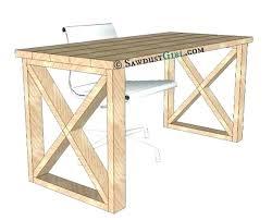 wood desk plans wooden desks plans wood desk plans marvelous wood desk plans sawdust girl easy