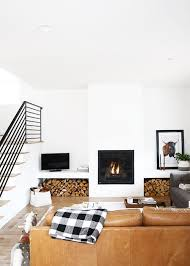 cozy modern living room with fireplace. Cozy Modern Living Room / With Fireplace