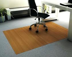 interesting bamboo chair mat large office interior office depot bamboo floor mat