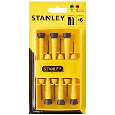 precision tools stanley. stanley 6pcs bimaterial precision screwdriver set 66-052 precision tools stanley a