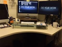 my standing desk experiment