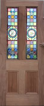 awesome stained glass door bespoke reion handmade victorian classic hardwood panel company insert repair interior number