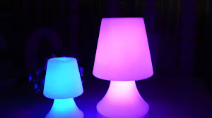 Rechargeable Battery Powered Cordless Led Table Lampsfashionable