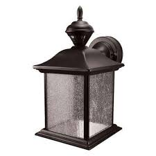 cottage outdoor lighting. City Carriage 150 Degree Black Outdoor Motion Sensing Lantern Cottage Lighting L