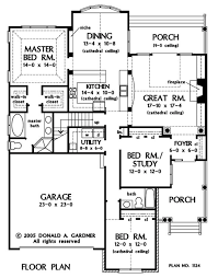 209 best one story home plans images on pinterest dream house Small Craftsman House Plans With Photos floor plan friday is the padgett 1124! this small home plan keeps the kitchen at small craftsman style house plans with photos