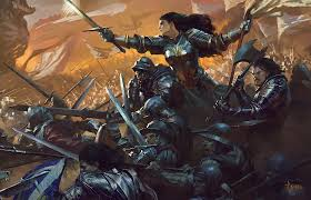 Artstation Joan Of Arc Cover Art Bayard Wu