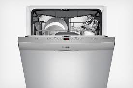 abt bosch dishwasher. Plain Abt Bosch Series M Partly Opened To Show Control Panel On Top Of Door In Abt Bosch Dishwasher H