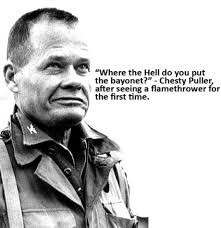 Chesty Puller Quotes Amazing Usmc Chesty Puller Quotes On QuotesTopics