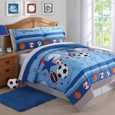 Buy Twin Sports Bedding from Bed Bath & Beyond & Sports and Stars 3-Piece Full/Queen Comforter Set in Blue Adamdwight.com