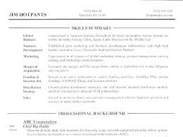 resume example for skills section sample summary qualifications nursing resume examples skills section