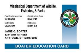 Ed® amp; Safety Boating License Course Mississippi Boat
