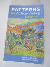 Patterns For College Writing Beauteous Patterns For College Writing A Rhetorical Reader And Guide 48th