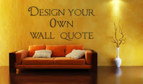Small Picture Design Your Own Wall art Quote Decor sticker 10 words eBay