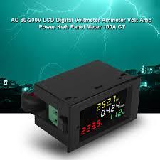 digital volt amp meter wiring diagram unique 4 in 1 ac 80 300v 100a 12 volt amp meter wiring diagram digital volt amp meter wiring diagram unique 4 in 1 ac 80 300v 100a color lcd
