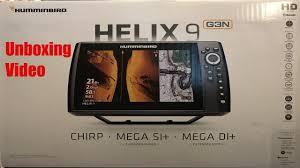 Unboxing Humminbird Helix 9 Msi G3n