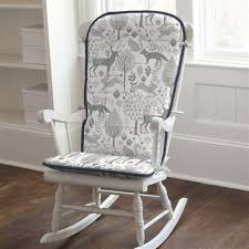 119 00 navy and gray woodland rocking chair pad