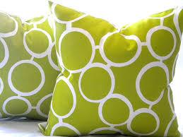 Spring Fever Modern Outdoor Pillows