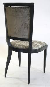 Dining Room  S French Art Deco Leleu  Dining Room Chairs - Dining room chair sets 6