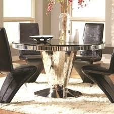 ... Round Glass Dining Table EBay Cool Inspire Q Lorin Led ...