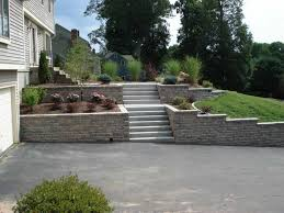 Front Yard Retaining Wall Designs Retaining Wall Driveway Google Search Landscaping