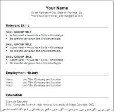 Formate Of Resume Functional Resume Format Resume Format Pdf For