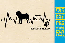 Download the free graphic resources in the form of png, eps, ai or psd. Dogue De Bordeaux Dog Svg Graphic By Svgyeahyouknowme Creative Fabrica