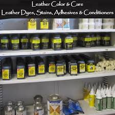 leather color care leather dye stains adhesives and conditioners