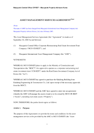 Asset Management Services Agreement1067 Thumbnail 4