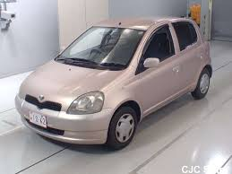 2001 Toyota Vitz - Yaris Pink for sale   Stock No. 59711 ...
