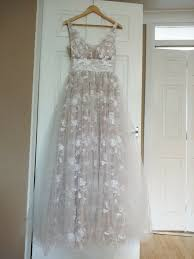 beautiful wedding dress by milly bridal new
