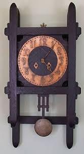arts crafts wall clock on wall clock arts and crafts with arts crafts wall clock for the home pinterest wall clocks