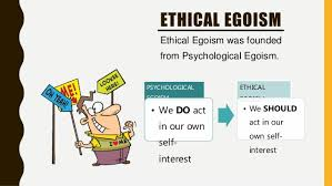consequentialism ethical egoism psychological