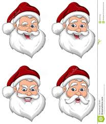 santa claus face images. Modren Claus Santa Claus Various Expressions Face Side View Intended Images