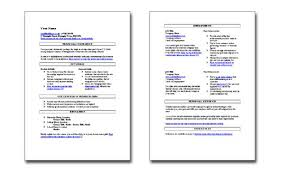 Skills Based Resume Template Stunning Free Templates For Skill Based CV Catherine's Career