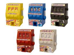 Pokemon Mini Vending Machine Extraordinary Pokemon XY Z Slot Machine Minifig At Mighty Ape NZ