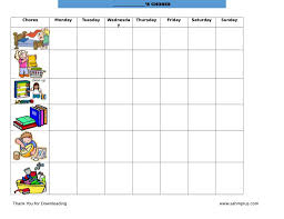 Printable Responsibility Chart For Kids Toddler Chore Chart How To Make A Dry Erase Chore Chart