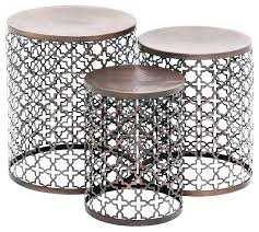round patio coffee table side tables black outdoor beautiful metal end folding canada