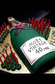 Buy Online We Deliver Champagne Bottle City Cake Company