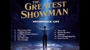 The greatest showman Sound Track List | The greatest showman, Greatful,  Soundtrack