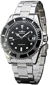 Mens Automatic Watches Full Stainless Steel ... - Amazon.com