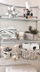 Bathroom decor for apartment and house, on a budget, cute